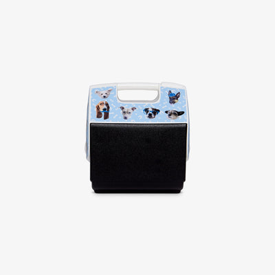 Back View | ASPCA Dogs Playmate Pal 7 Qt Cooler