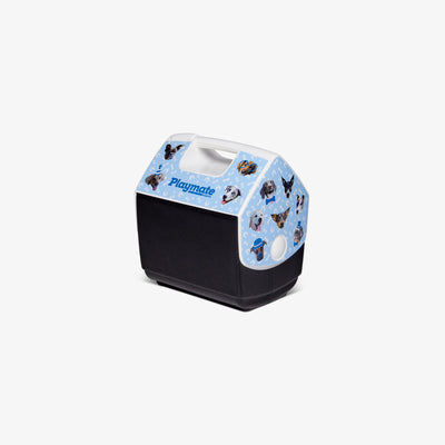 Angle View | ASPCA Dogs Playmate Pal 7 Qt Cooler