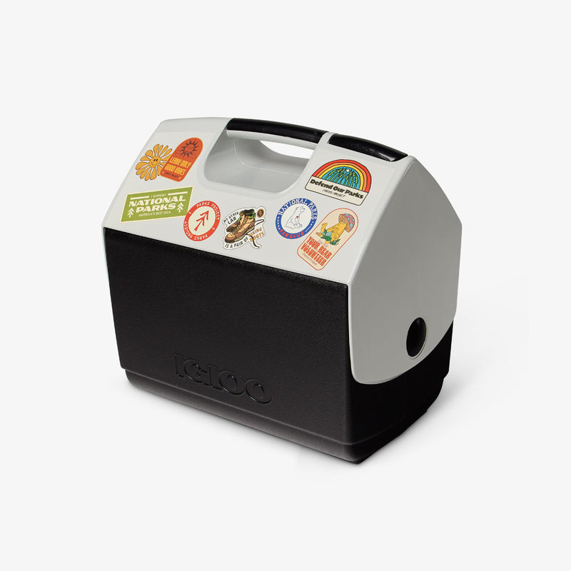 Front View | Parks Project Stickers ECOCOOL Playmate Elite 16 Qt Cooler