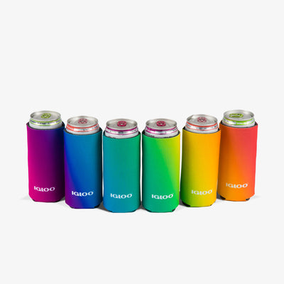 Can View | Igloo Slim Can Cooler 6 Pack