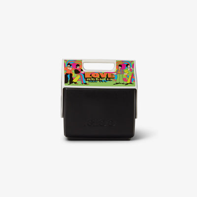 Back View | Yellow Submarine All You Need Is Love Little Playmate 7 Qt Cooler