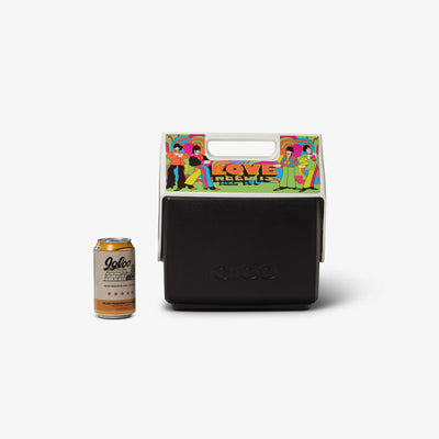 Size View | Yellow Submarine All You Need Is Love Little Playmate 7 Qt Cooler
