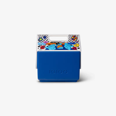 Front View | Yellow Submarine Blue Meanies Little Playmate 7 Qt Cooler