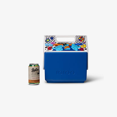 Size View | Yellow Submarine Blue Meanies Little Playmate 7 Qt Cooler