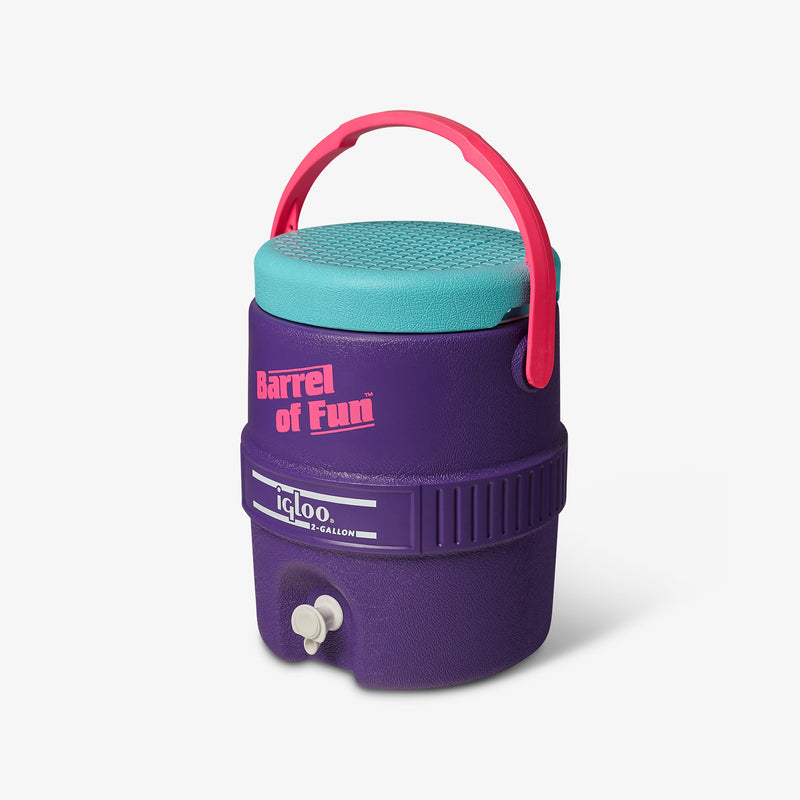 Large View | Barrel of Fun 2 Gallon Jug::Purple