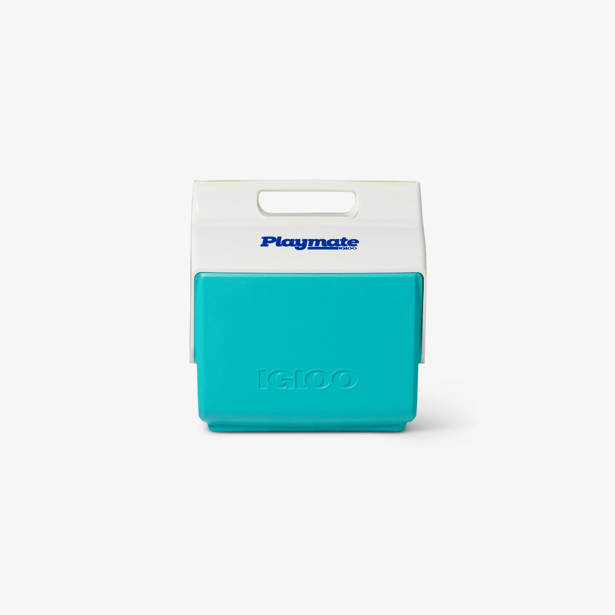 Front View | Little Playmate 7 Qt Cooler::Aquatic Teal