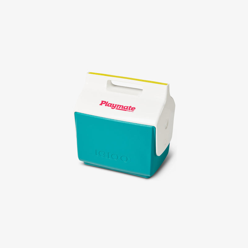 Angle View | Little Playmate 7 Qt Cooler::Jade