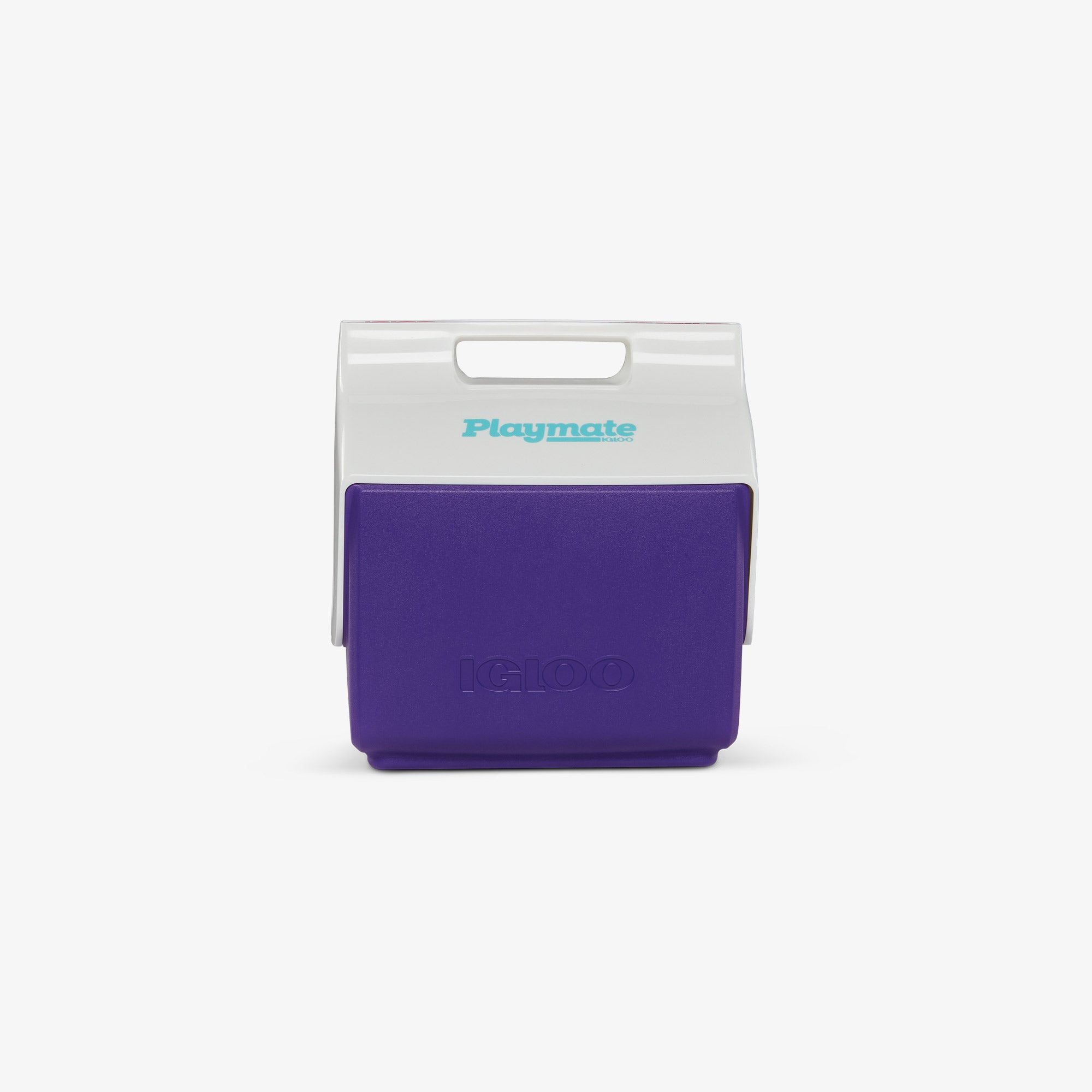 Front View | Little Playmate 7 Qt Cooler::Purple