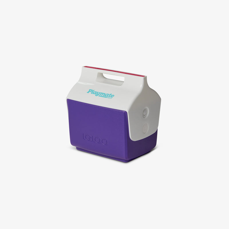 Angle View | Little Playmate 7 Qt Cooler::Purple