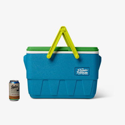 Size View | Retro Limited Edition Picnic Basket 25 Qt Cooler