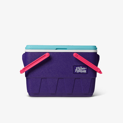 Handles Down View | Retro Limited Edition Picnic Basket 25 Qt Cooler