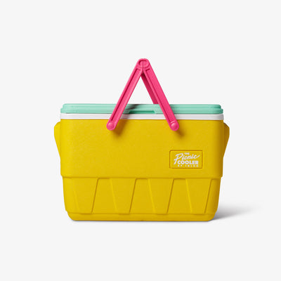 Front View | Retro Limited Edition Picnic Basket 25 Qt Cooler