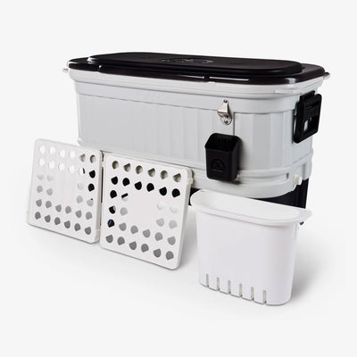 Trays View | Party Bar 125 Qt Cooler