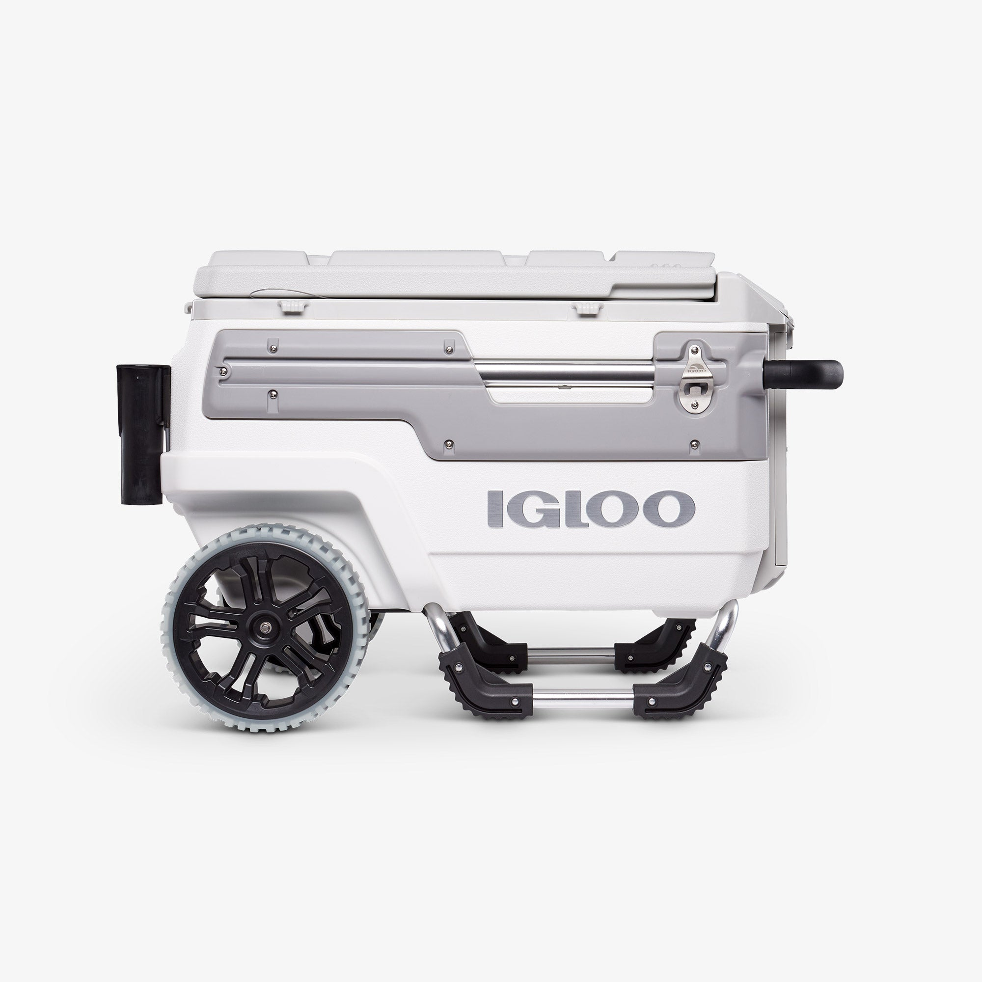 Large View | Igloo Trailmate Marine 70 Qt Cooler::White/Gray