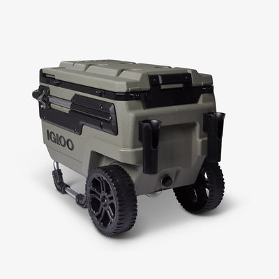 Back Angle View | Trailmate Journey 70 Qt Cooler