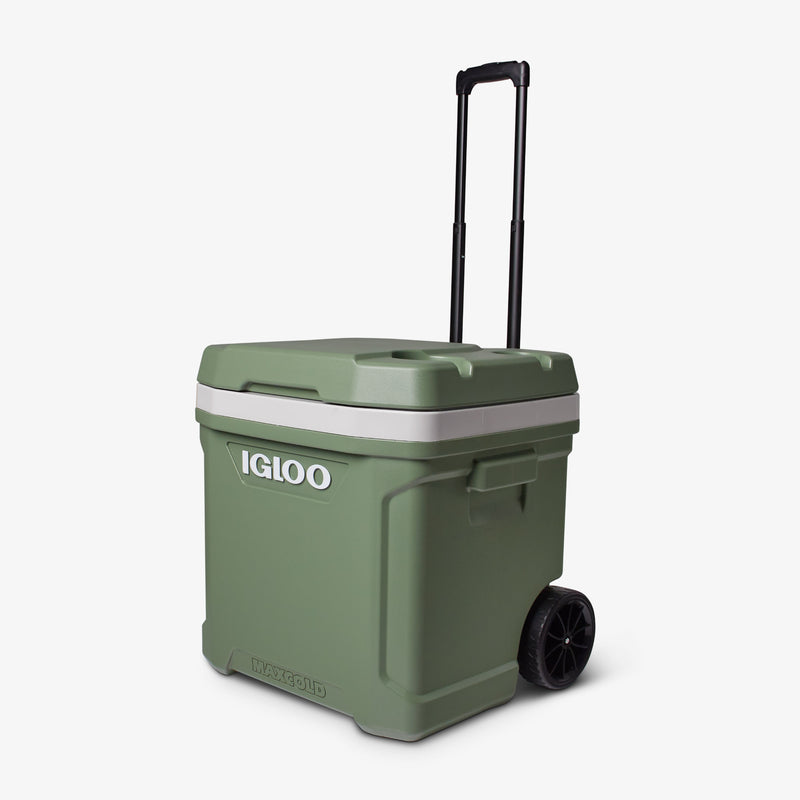 Front View | ECOCOOL Latitude 60 Qt Roller Cooler