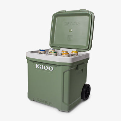 Open View | ECOCOOL Latitude 60 Qt Roller Cooler