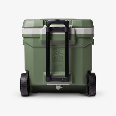 Back View | ECOCOOL Latitude 60 Qt Roller Cooler