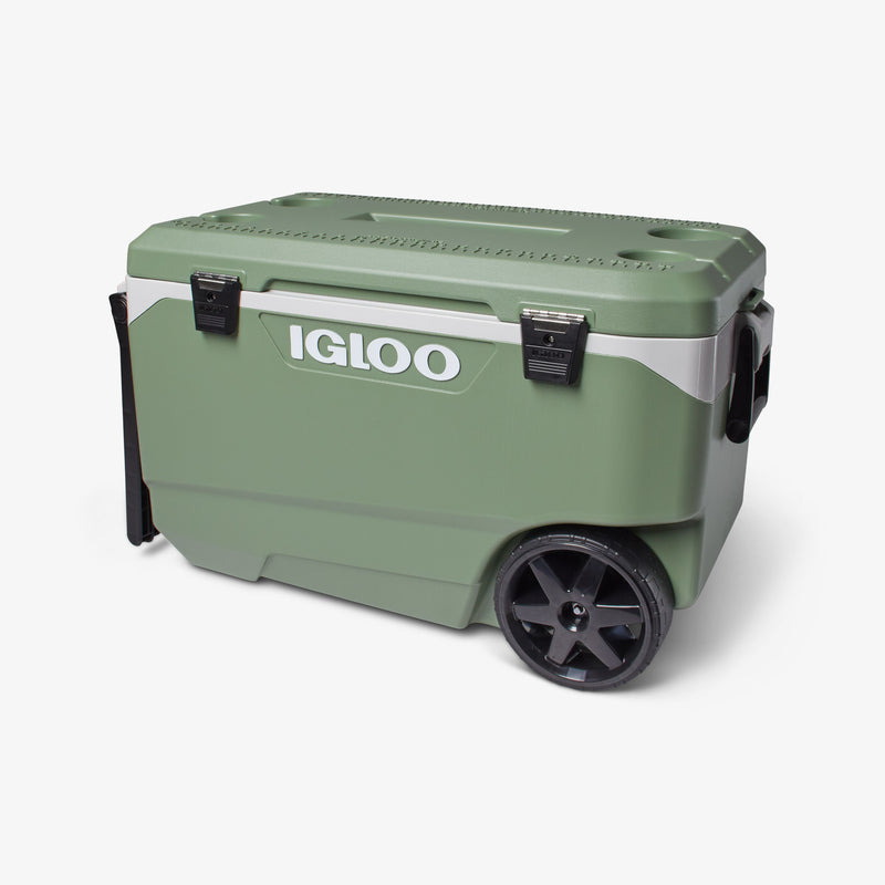 Front View | ECOCOOL Latitude 90 Qt Roller Cooler