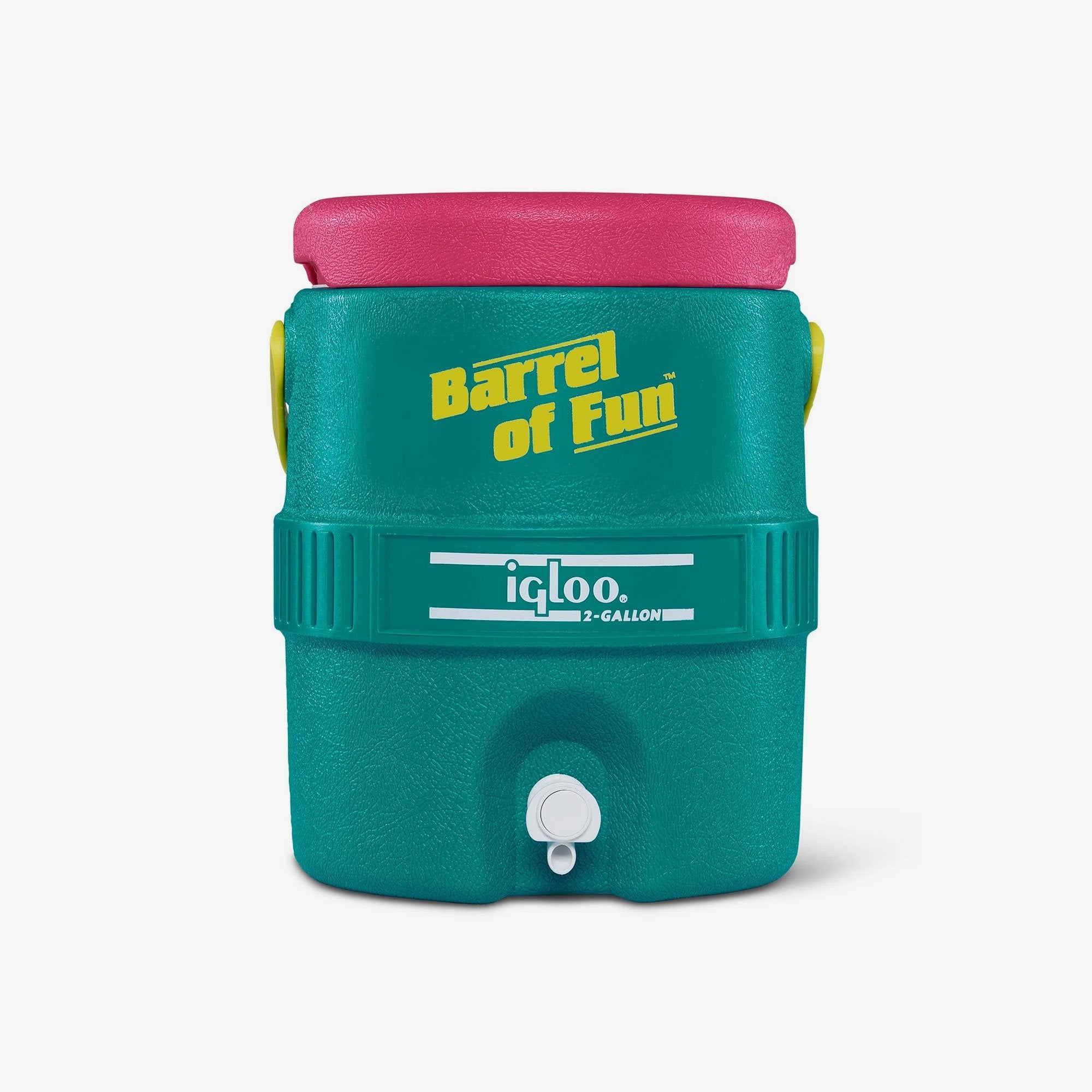 Large View | Barrel of Fun 2 Gallon Jug::Jade
