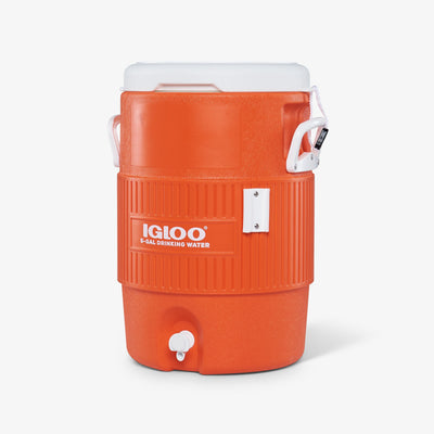 Angle View | Igloo 5 Gallon Seat Top Water Jug Without Cup Dispenser