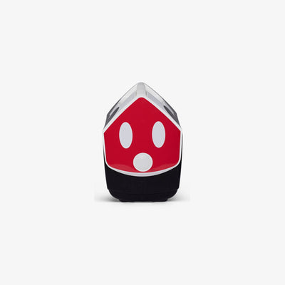 Side View | Mickey Mouse Playmate Pal Limited Edition Mickey Ears  7 Qt Cooler