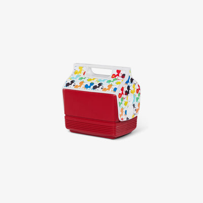 Angle View | Mickey Mouse Playmate Mini Limited Edition Multicolor  4 Qt Cooler