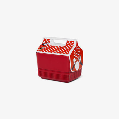 Angle View | Minnie Mouse Playmate Mini Limited Edition Polka Dots  4 Qt Cooler