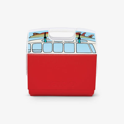 Back View | VW Red Van Playmate Elite Special Edition 16 Qt Cooler