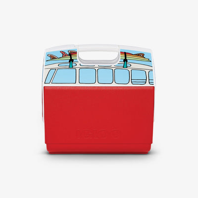 Large View | VW Red Van Playmate Elite Special Edition 16 Qt Cooler