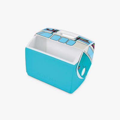 Open View | VW Teal Van Playmate Elite Special Edition 16 Qt Cooler