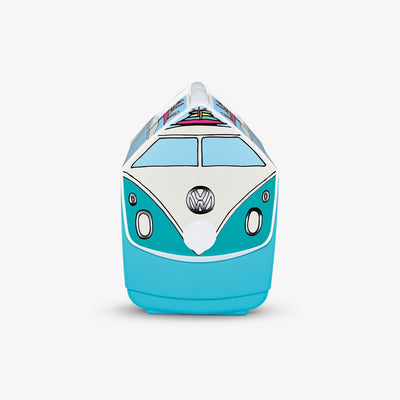 Side View | VW Teal Van Playmate Elite Special Edition 16 Qt Cooler