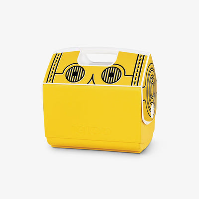 Angle View | Star Wars Playmate Elite C3PO 16 Qt Cooler