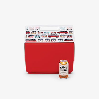Size View | VW Playmate Classic Bus Repeat 14 Qt Cooler