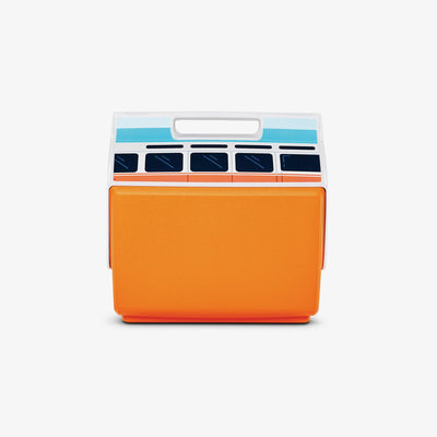 Back View | VW Playmate Classic Orange Bus 14 Qt Cooler