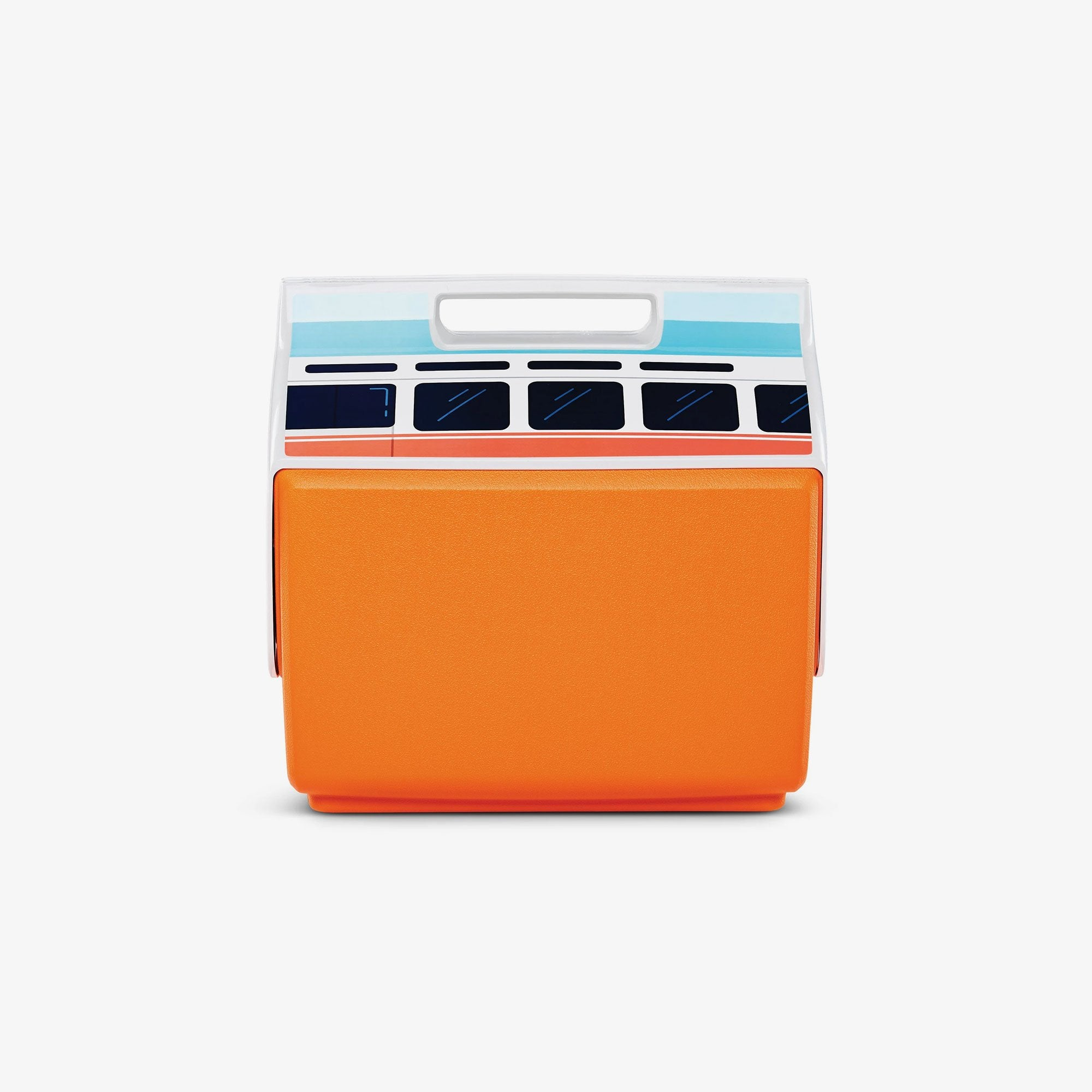 Large View | VW Playmate Classic Orange Bus 14 Qt Cooler
