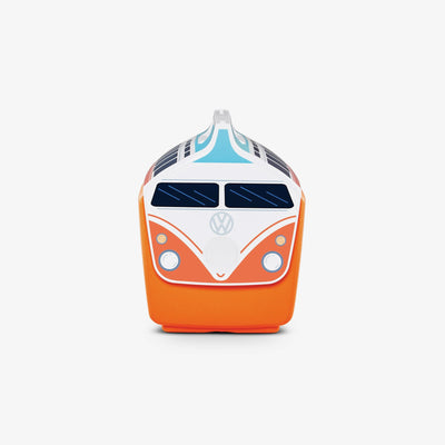 Side View | VW Playmate Classic Orange Bus 14 Qt Cooler