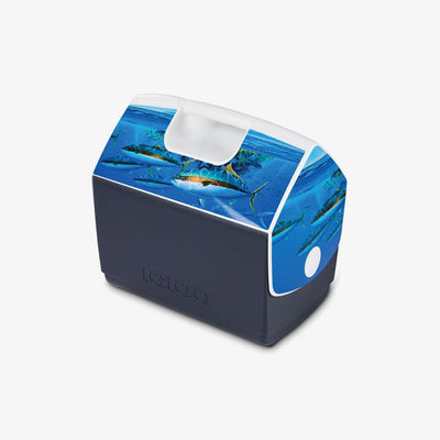 Angle View | Amadeo Bachar Playmate Elite Paddy Yellowtail 16 Qt Cooler