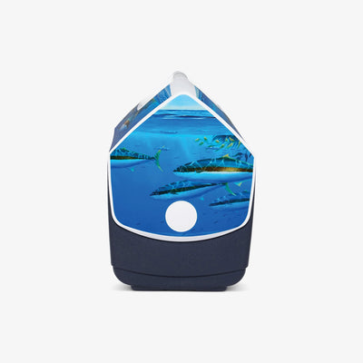 Side View | Amadeo Bachar Playmate Elite Paddy Yellowtail 16 Qt Cooler