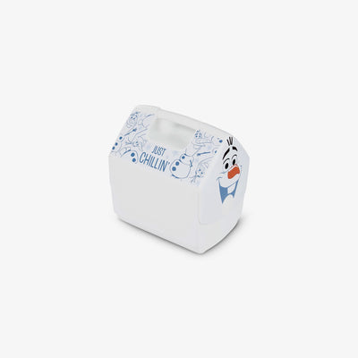 Angle View | Frozen Playmate Pal Olaf 7 Qt Cooler