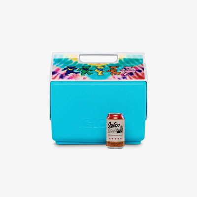 Size View | Grateful Dead Dancing Bears Playmate Classic 14 Qt Cooler
