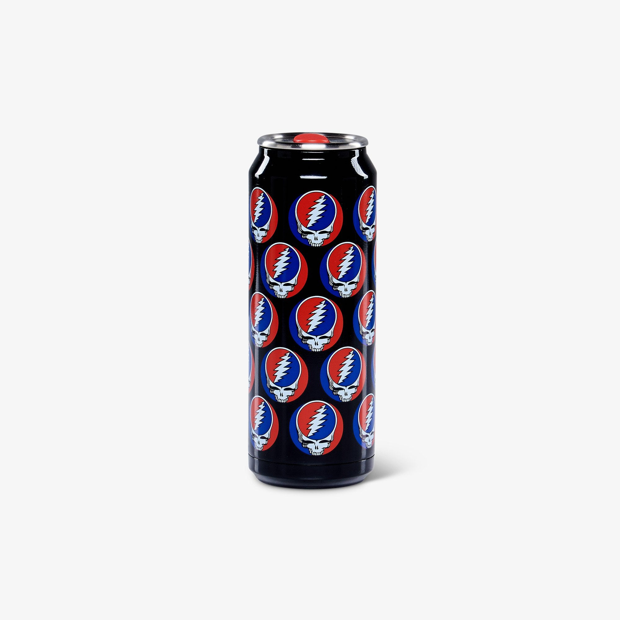 Large View | Grateful Dead Steal Your Face 16 Oz Stainless Steel Can