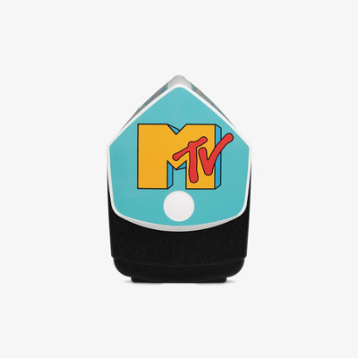 Side View | MTV Playmate Elite Special Edition Logo Repeat  16 Qt Cooler