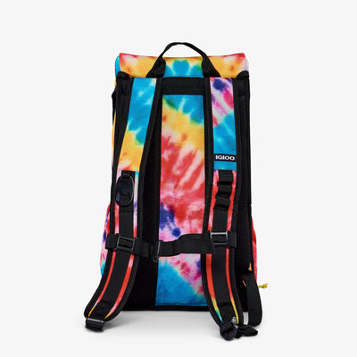 Back View | Grateful Dead Dancing Bears Backpack