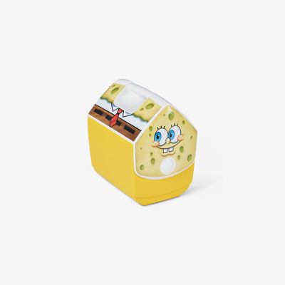 Angle View | SpongeBob Squarepants Playmate Pal 7 Qt Cooler