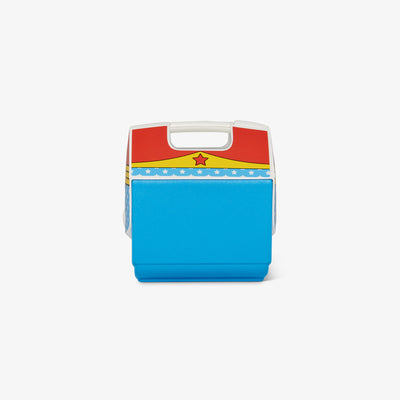 Back View | Wonder Woman Iconic Logo Playmate Pal 7 Qt Cooler