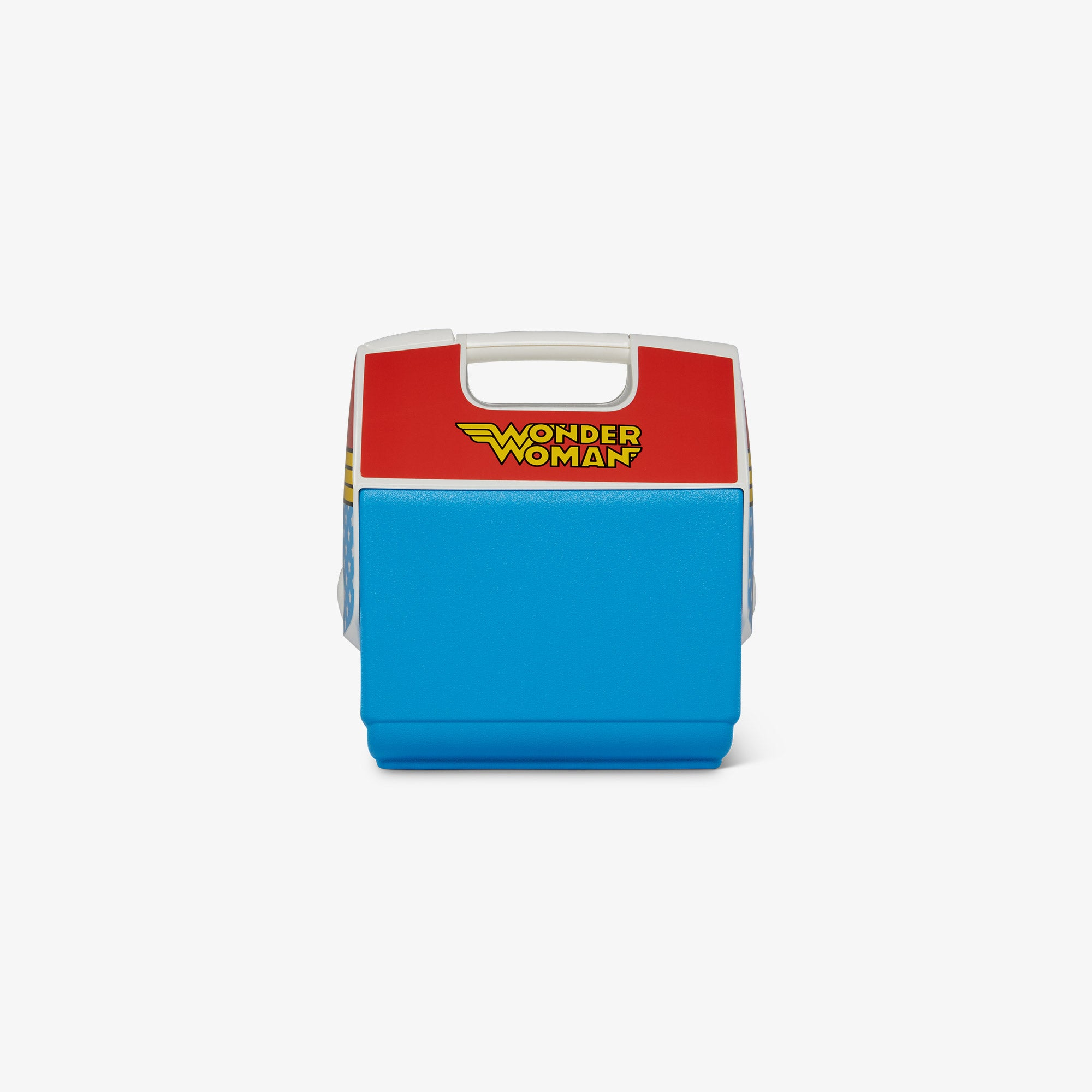Front View | Wonder Woman Iconic Logo Playmate Pal 7 Qt Cooler