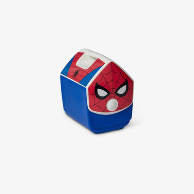 Angle View | Spider-Man Suit Playmate Pal 7 Qt Cooler