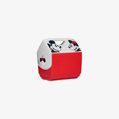 Angle View | Mickey & Minnie Playmate Pal 7 Qt Cooler