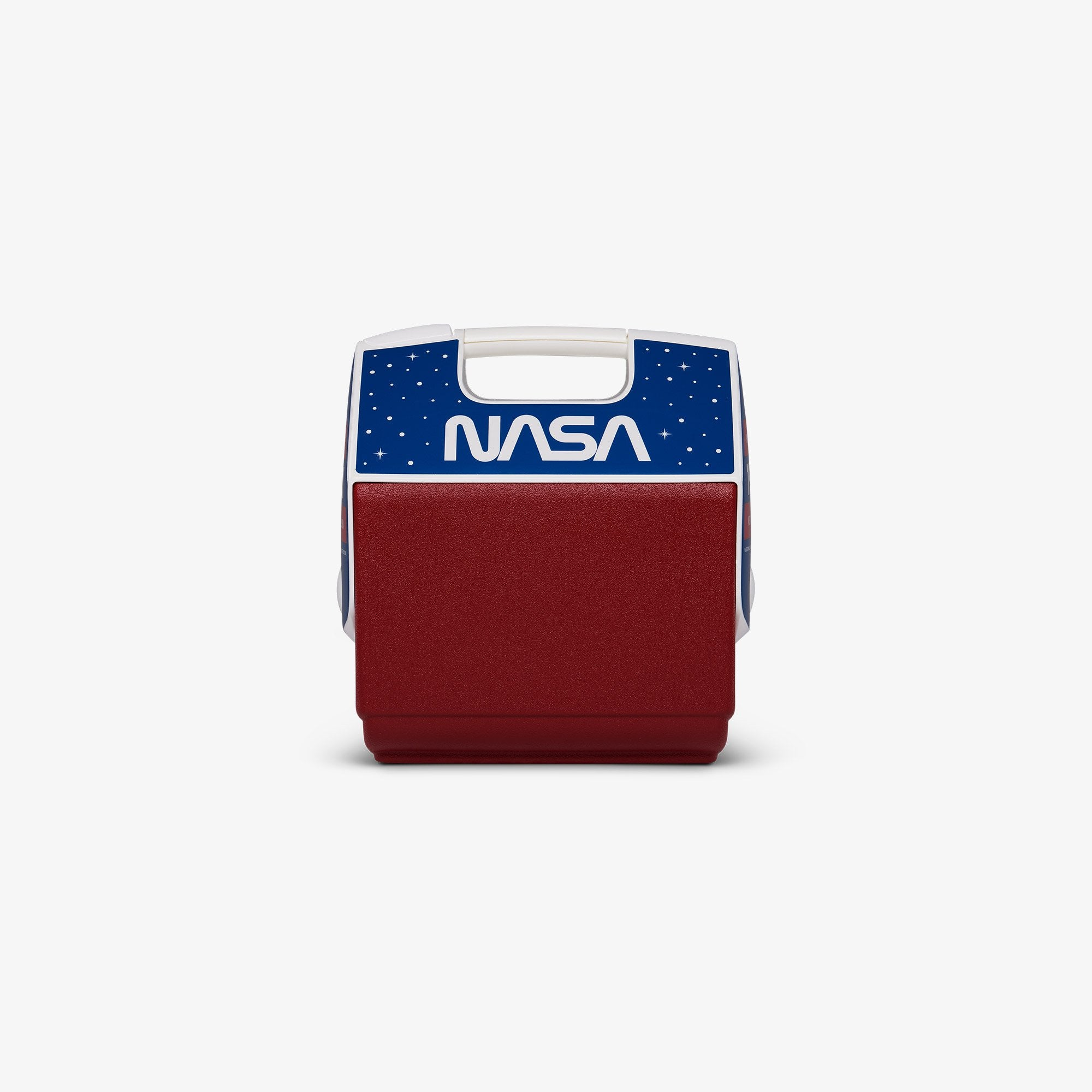 Large View | NASA Worm Logo Playmate Pal 7 Qt Cooler